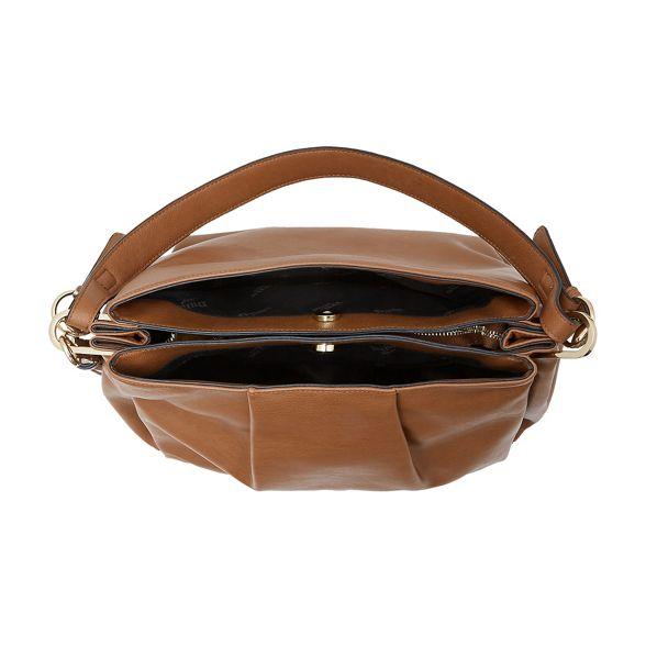detail bag 'Danty' Tan Dune tassel slouch OH006w
