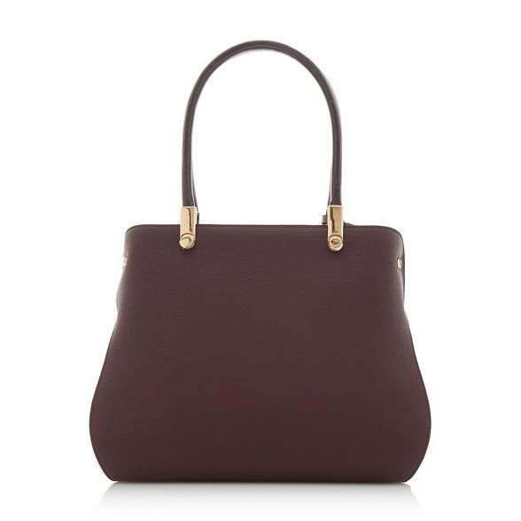 inverted Dune bag 'Dolivia' Dark red shoulder large gusset ggw4IHzq