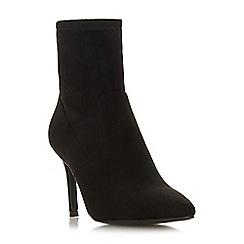 Steve Madden - Black 'Lava Steve Madden' high stiletto heel ankle boots