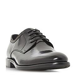 Bertie - Black 'Poem' lace up gibson shoes