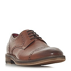 Bertie - Tan 'Pervoo' Gibson brogue shoes