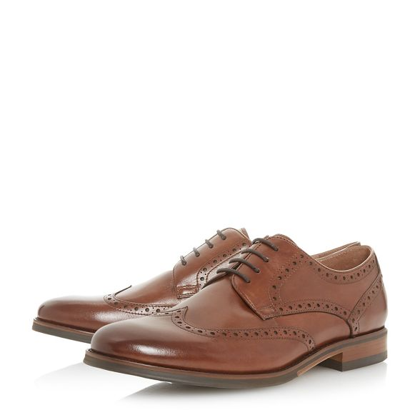 detailed 'Pabulum' gibson Bertie shoes Tan brogue Bx40wqtv