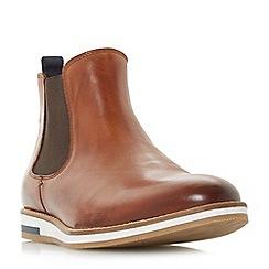 Bertie - Tan 'Chasten' wedge sole Chelsea boots