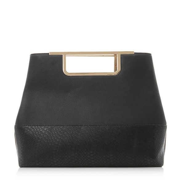 handle 'Dandle' Dune bag gold Black qaRnH1t