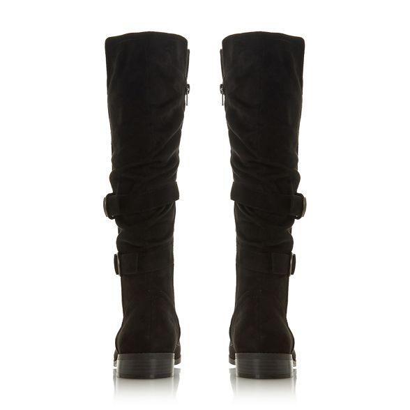 by 'Tayte' Dune knee Heels Black high Head boots Over BqETxTf
