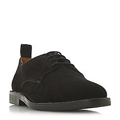 Dune - Black 'Berbatov' lace up desert shoes