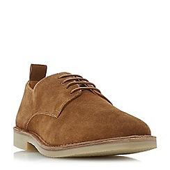 Dune - Tan 'Berbatov' lace up desert shoes