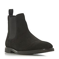 Dune - Black 'Calzaghe' desert Chelsea boots
