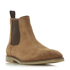 Dune - Tan 'Calzaghe' desert Chelsea boots