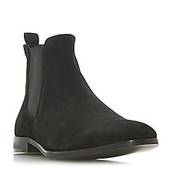 Dune - Black 'Mayweather' chisel toe Chelsea boots