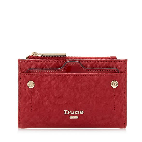 removable holder mini purse with 'Kimogen' card Red Dune qO0vXX