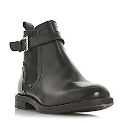 Roberto Vianni - Black leather 'Parca' block heel Chelsea boots