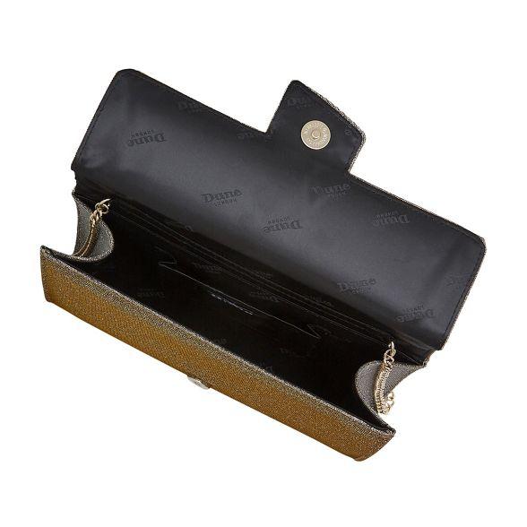 foldover 'Biijou' Dune bag Gold clutch HX6qqSwx