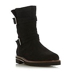 Dune - Black suede 'Rhianne' boots