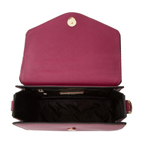 handle top velvet Dune small 'Daarabia' red bag ornate Dark wYCqHw0