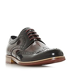 Dune - Black 'Radcliffe' derby brogue shoes
