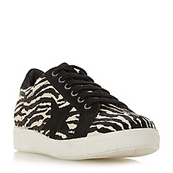 Dune - Multicoloured leather 'Edris' lace up trainers