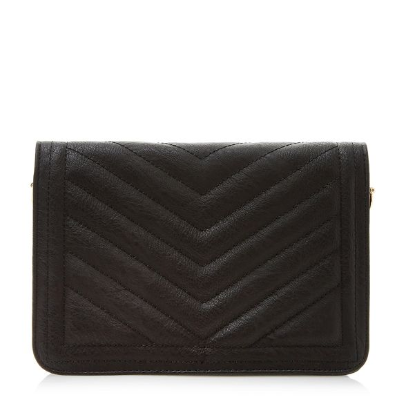 quilted Dune embellished purse 'Drinket' Black Ez6qzrwxnS