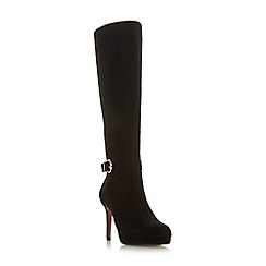 Roberto Vianni - Black 'Slick' high stiletto heel knee high boots