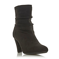 Roberto Vianni - Black 'Oggy' mid block heel ankle boots