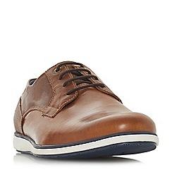 Dune - Tan 'Belugo' wedge sole gibson shoes