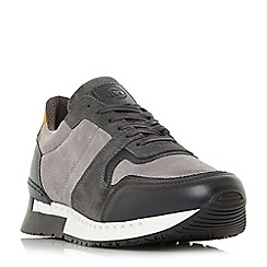 Dune - Grey 'Tokyo' chunky sole oversized trainers
