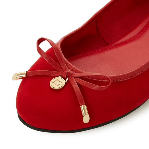 leather Red ballet 'Harpss' pumps Dune a75vqwn