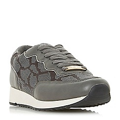 Head Over Heels by Dune - Grey 'Eada' casual trainers
