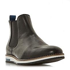 Bertie - Black 'Chasten' wedge sole Chelsea boots