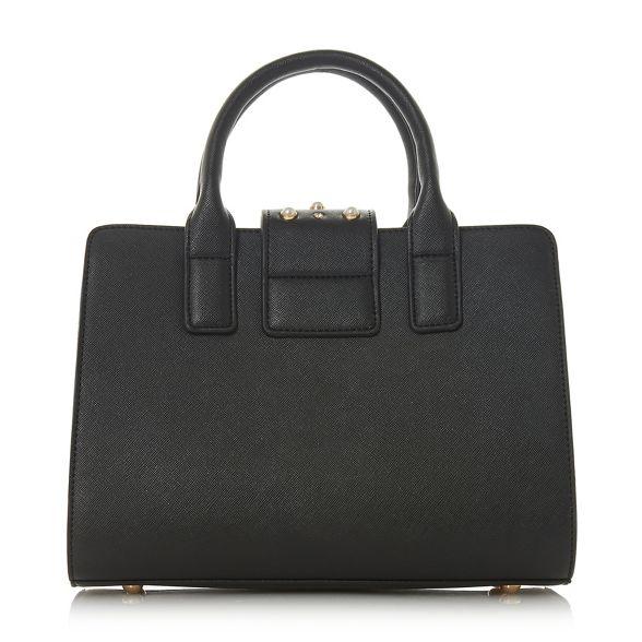 Black stud Dune 'Duigley' bag embellished tote g8dqTWBdw