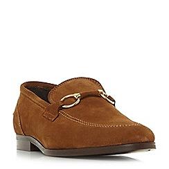 Bertie - Tan 'Parason' snaffle detail loafers