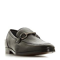 Bertie - Black 'Parason' snaffle detail loafers