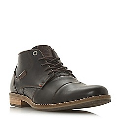 Dune - Brown 'Chigwell' lace up chukka boots