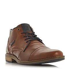 bc711dda6cd3 Dune - Tan  Chigwell  lace up chukka boots