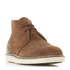 Bertie - Tan 'Copenhagen' wedge sole chukka boots
