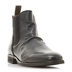 Bertie - Black 'Cannibal' Chelsea boots