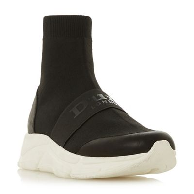 Dune - Black 'Everrmore' casual trainers