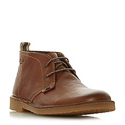 Bertie - Tan 'Castle' lace up desert boots