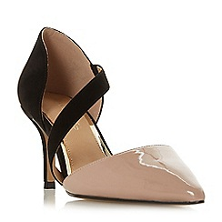 Head Over Heels by Dune - Multicoloured 'Camellia' mid stiletto heel court shoes