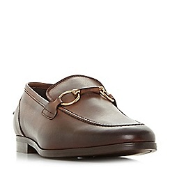 Bertie - Brown 'Parason' snaffle detail loafers