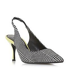 Dune - Multicoloured 'Cherubb' stiletto heel court shoes