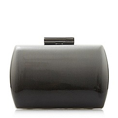 Dune - Grey 'Balayage' patent ombre clutch bag