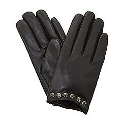 Dune - Black 'Islaa' gloves