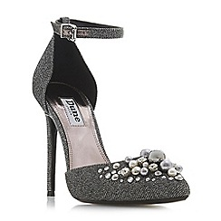 Dune - SilverCwartz' high stiletto heel court shoes