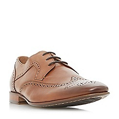 Dune - Tan 'Pheasant' contrast panel brogues