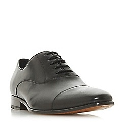 Dune - Black 'Pontus' leather Oxford shoes