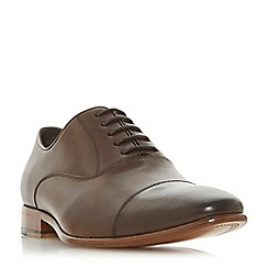 Dune - Brown 'Pontus' leather Oxford shoes