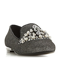 Dune - Silver 'Galinaa' loafers