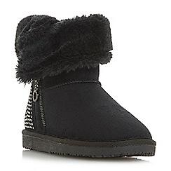 Head Over Heels by Dune - Black 'Rockiie s' snow boots