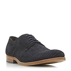 Bertie - Navy 'Prometheus.' lace up Gibson shoes